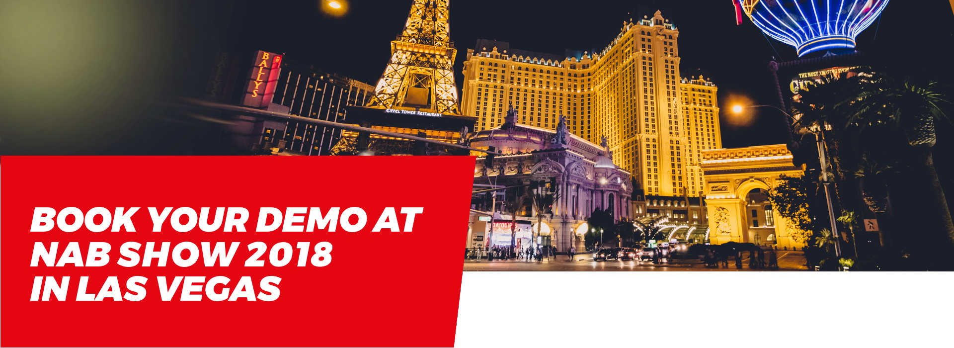 Book your Demo at NABShow 2018