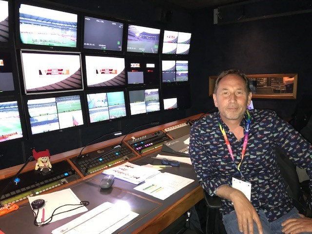 """Thierry Delrue (<b>RTBF</b>) about broadcasting in times of Corona: """"you ..."""